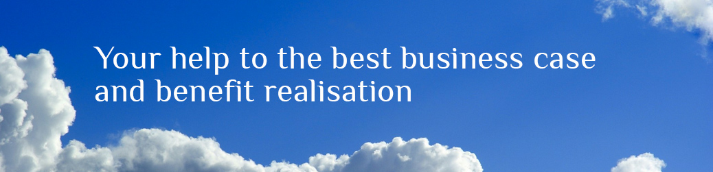 Business case and benefit realisation (dot com)